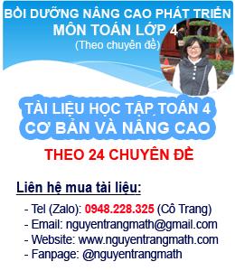 Bồi dưỡng Toán lớp 4 - Cô Trang