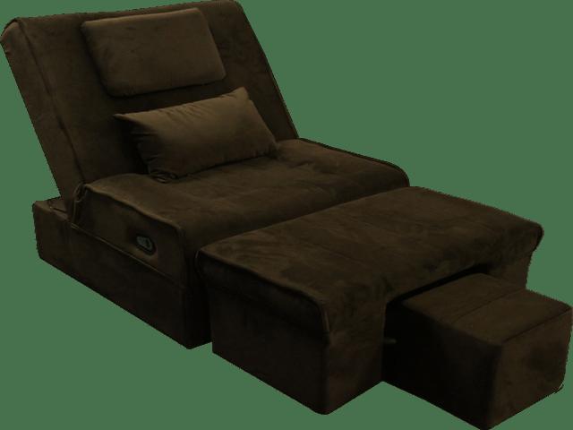 ELLA06 Electric Fabric Reclining Foot Massage Sofa w