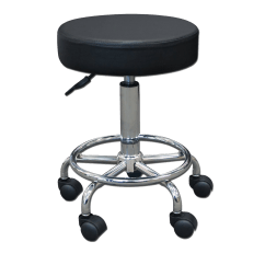 Chair Steel Base With Wheels Pier One Dining Round Rolling Pneumatic Height Adjusting Stool Massage Spa Equipment Supply