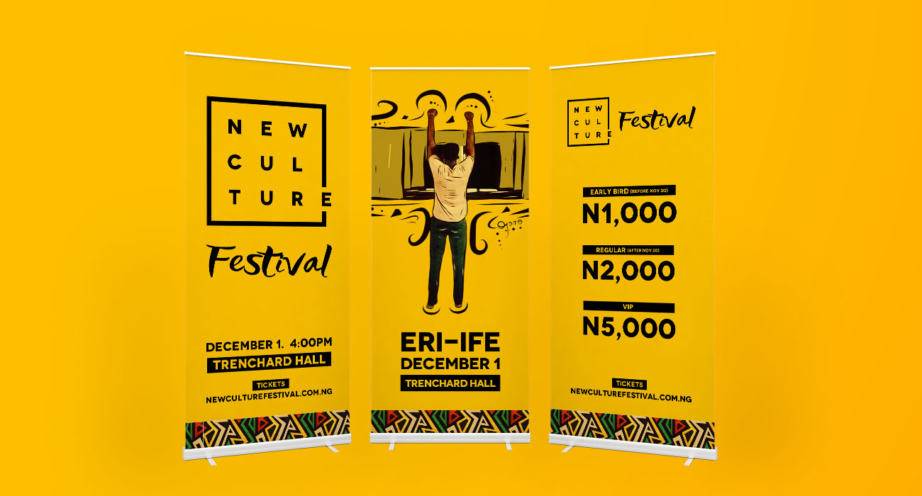 New Culture Festival Banners