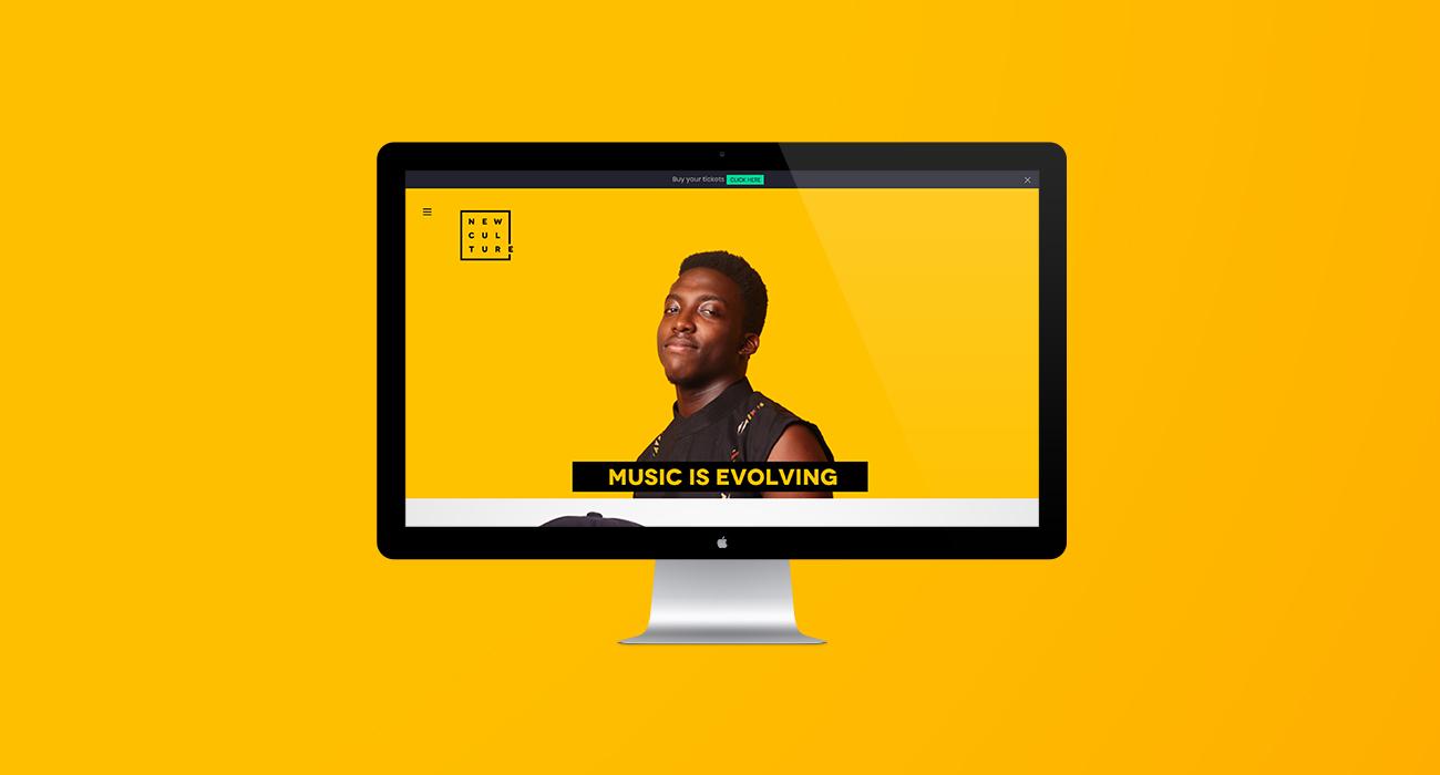 New Culture Festival Website