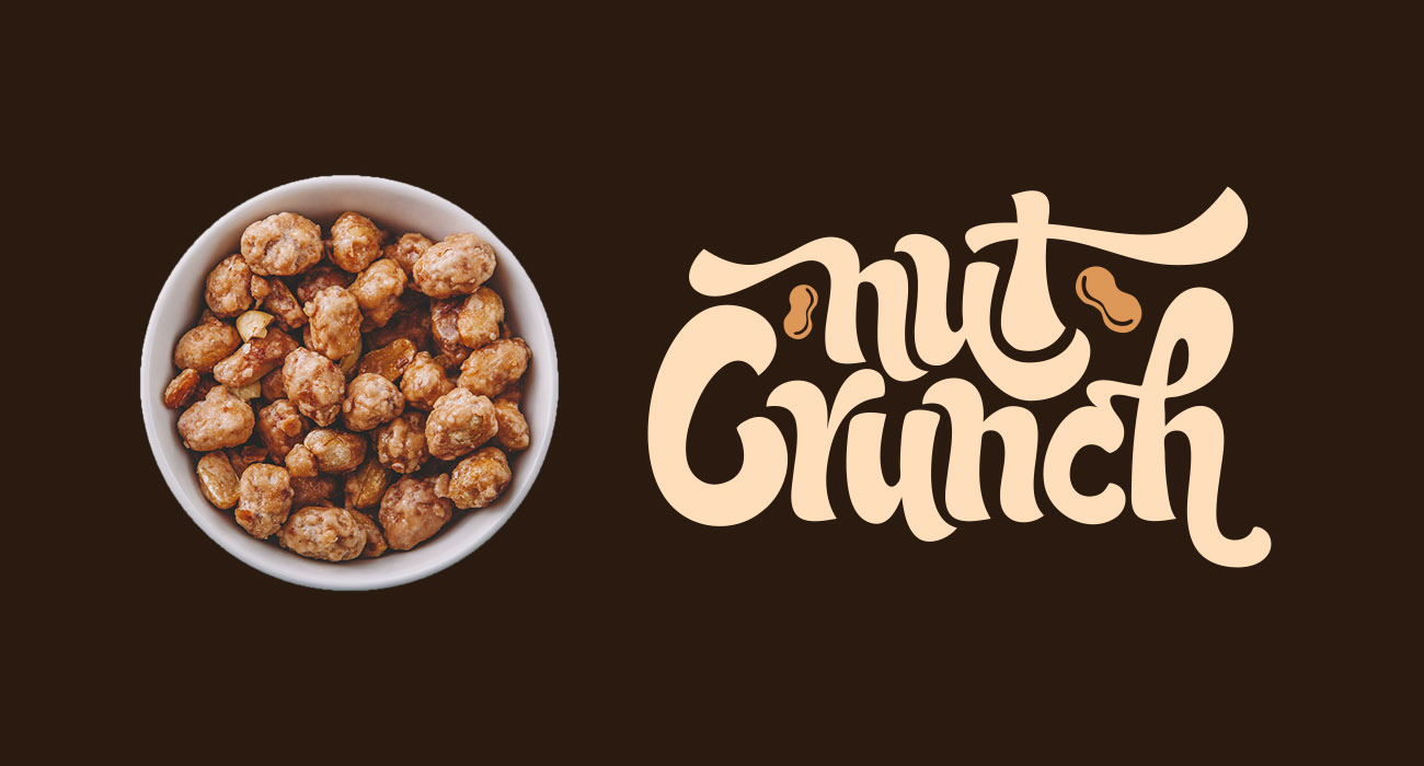 Nut Crunch Logo and Nuts