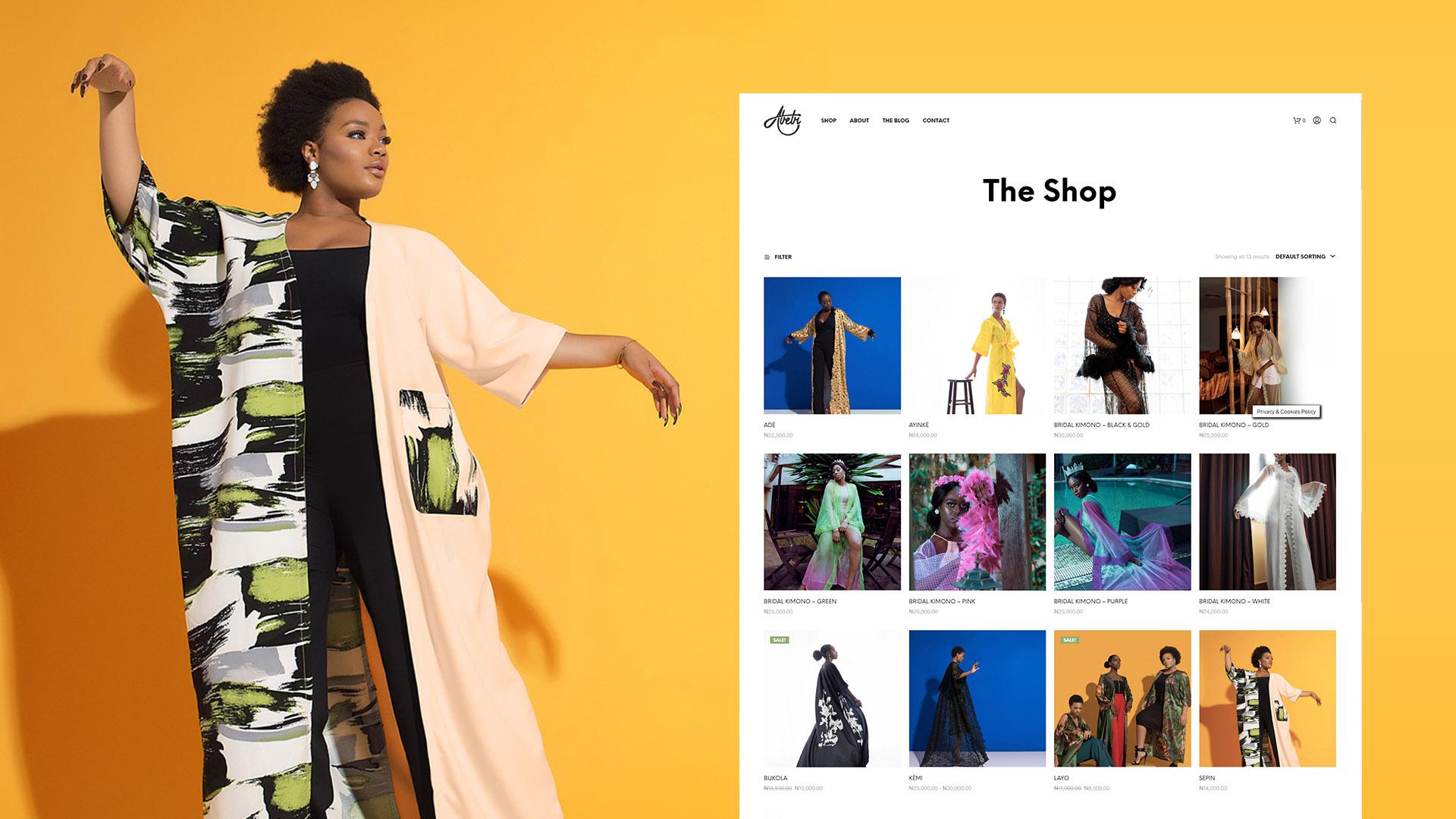 Abebibytan Website Shop