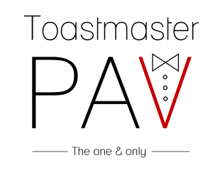 Toastmaster PAV will make Making Your Special Day