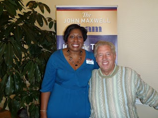 Angela Geiger and John Maxwell