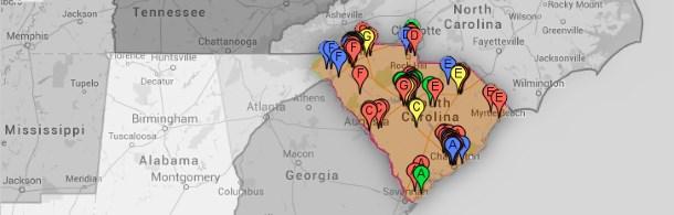 D58 State Map Club Pushpins