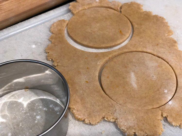 Tasty Sugar Cookie With Orange Zest