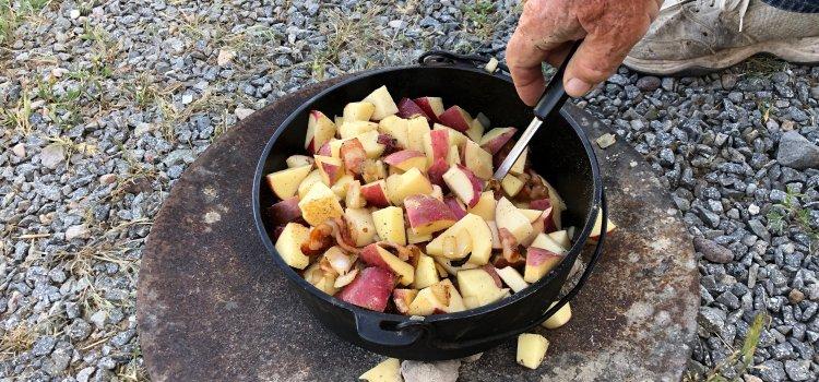 Grandpa's Dutch Oven Potato Recipe