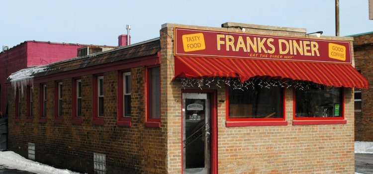 Franks Diner in Kenosha With Kevin Ervin