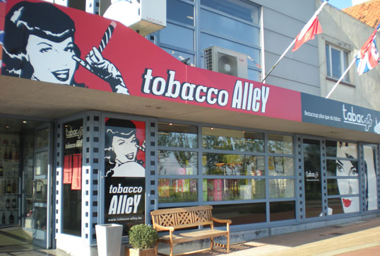 Tobacco Alley Adinkerke Belgium