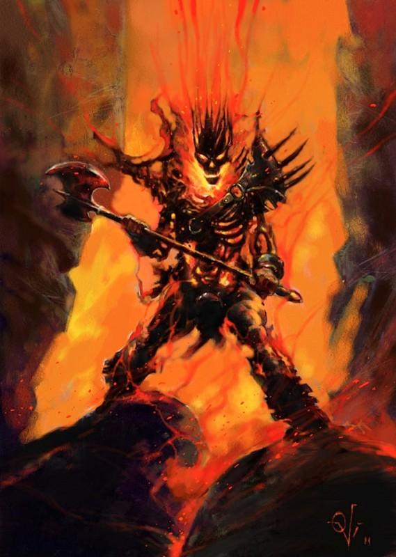 fire demon tobado