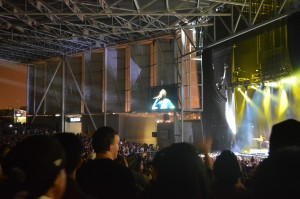The Weeknd performs at the Molson Ampitheatre.