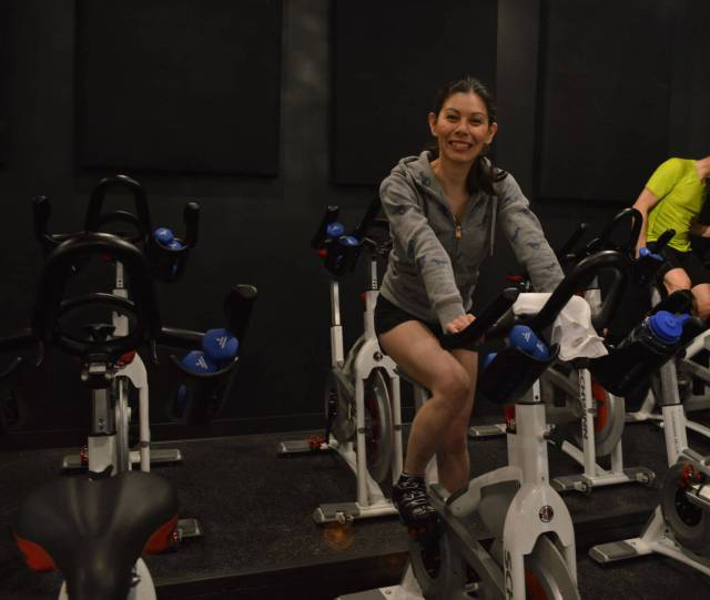 Spinning is harder than it looks. Give it a try at Wheelhouse!