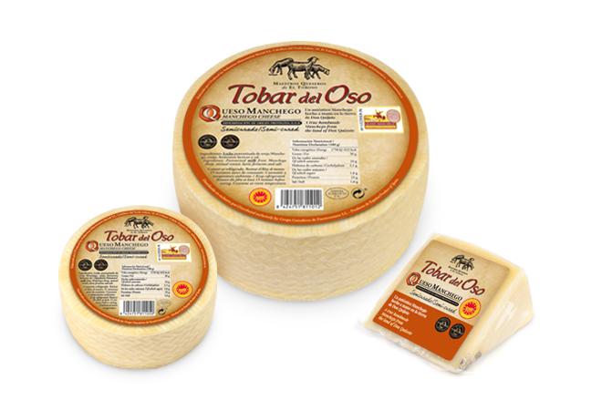 Tobar del Oso, un queso manchego muy premiado