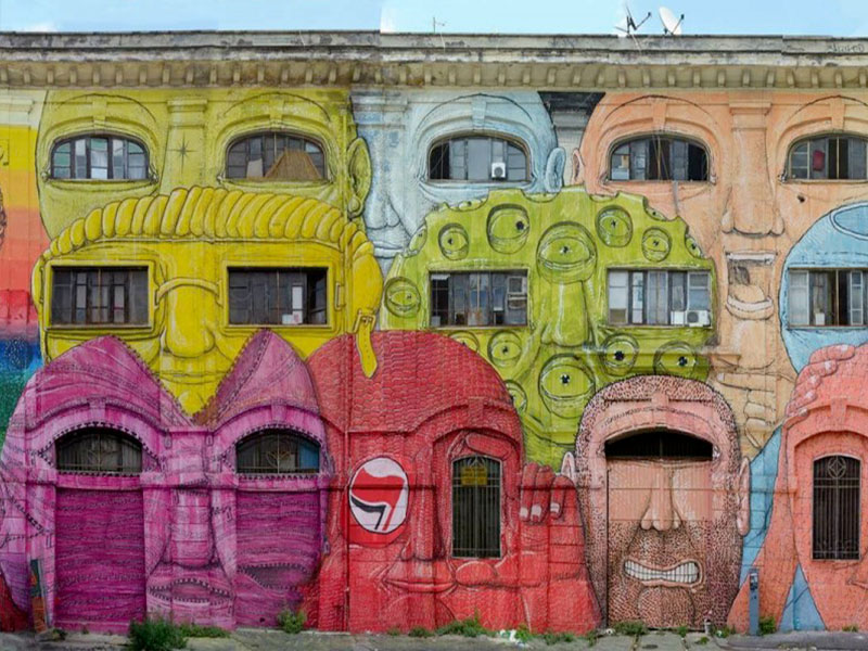Arte di Strada – Street Art – Arte Callejero