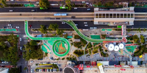 Xiamen Has The World's Longest Elevated Bicycle Way Designed by Dissing + Weitling Architecture