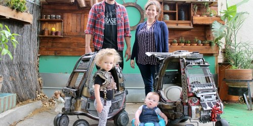 Ian Pfaff, A Dad Turned His Kids' Toy Cars into A Cool Mad Max Mobiles