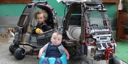 Ian Pfaff, A Cool Dad Made Epic Mad Max Junior Trailer Starring His Kids