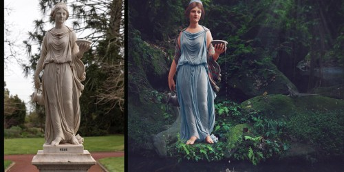 Digital Artist Jane Long Colorizes 19th Century Statues To Make Them Come To Life