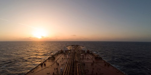 4K Time Lapse - A Round Voyage From Algeciras To Sidi Kerir On Board A Suezmax Motor Tanker