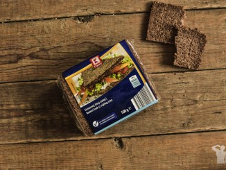 Celozrnný žitný chléb - fitness chlebík