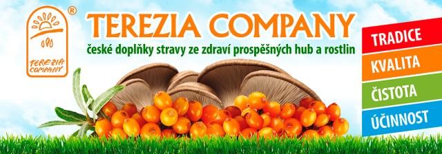 Terezia COMPANY - zdraví prospěšné houby a rostliny