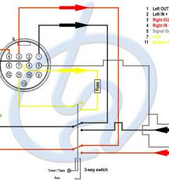 oem audio systems rx 7 fd audio tobias albert bose 13 pin connector diagram on 12v car adapter wiring diagram [ 1280 x 960 Pixel ]