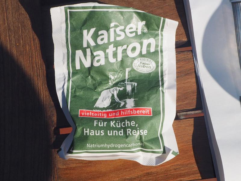 Tütchen Kaiser-Natron (Natriumhydrogencarbonat)