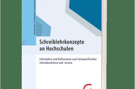 Vorschaubild: Sammelband Schreiblehrkonzepte an Hochschulen