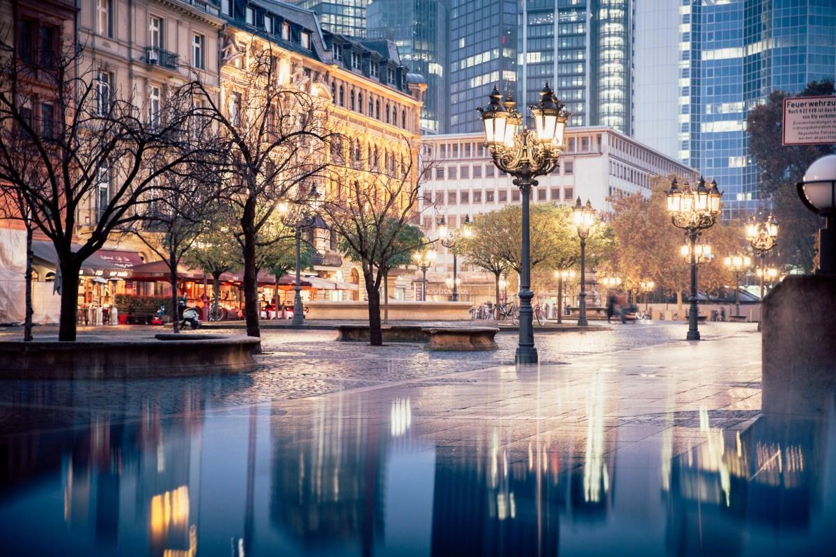 Frankfurt im Herbst - Architektur