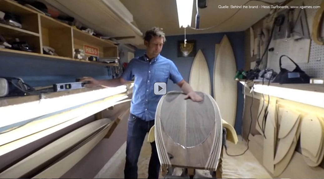 Behind the brand - Hess Surfboards