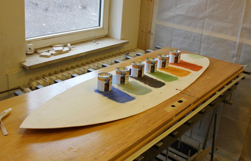 surfboarddesign mit holzlasuren von auro wooden surfboards. Black Bedroom Furniture Sets. Home Design Ideas