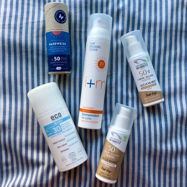 Naturkosmetik Sonnencreme für sensible Haut