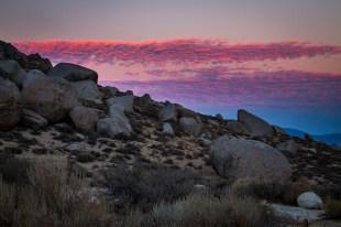Sunset over Buttermilks