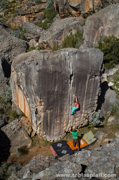 Creaking Heights, 6c+ Fb, Rocklands