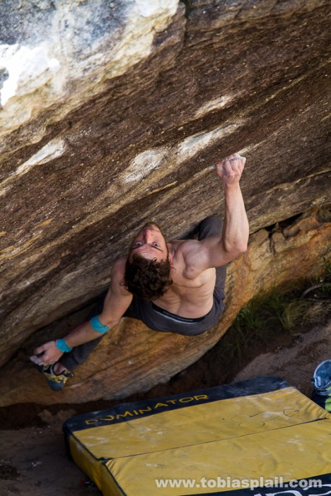 Pendragon, 8a Fb, Rocklands
