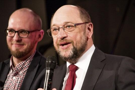 Tobias von Pein, Martin Schulz