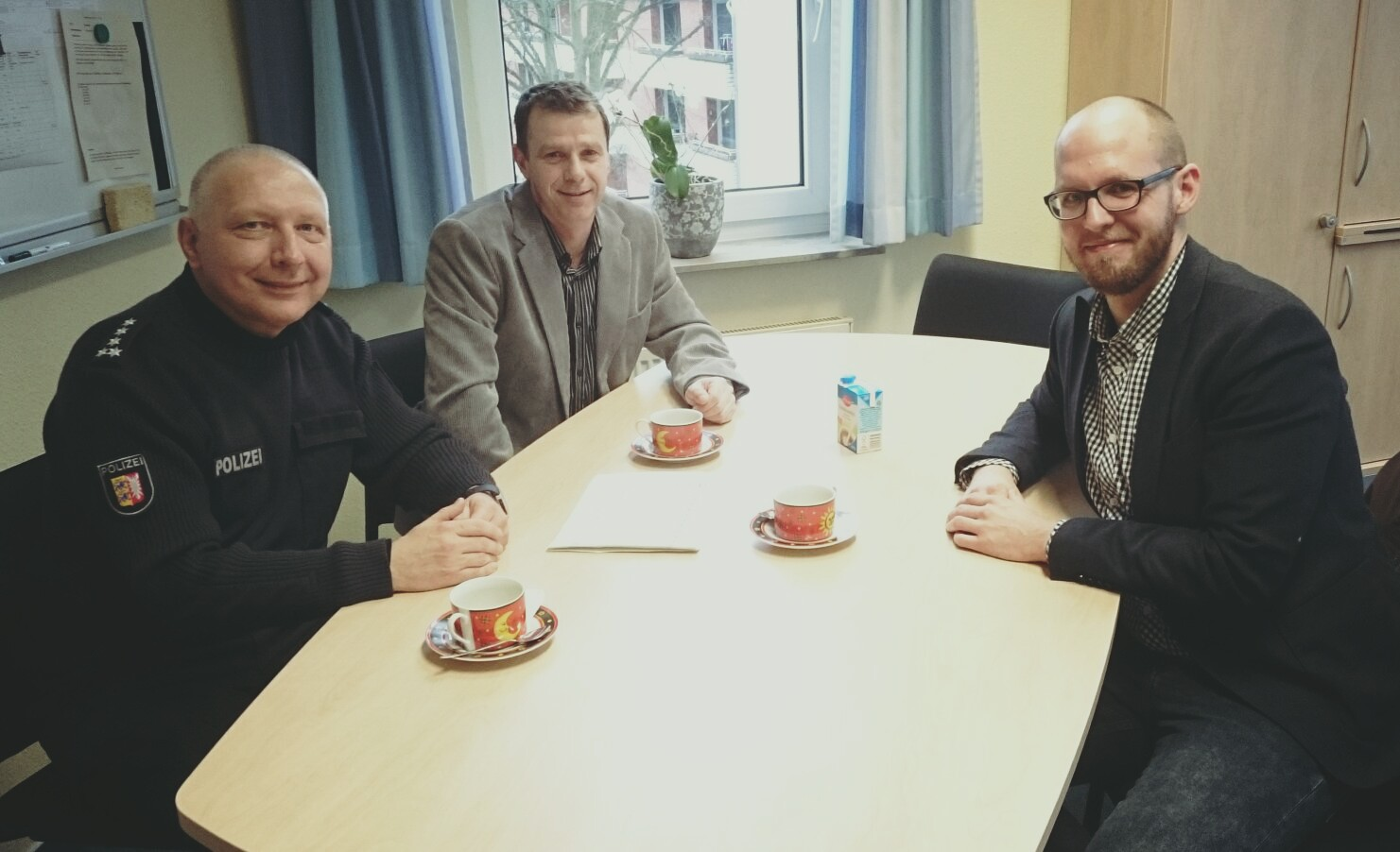 Norbert Patzker, Ralf Lorenzen, Tobias von Pein