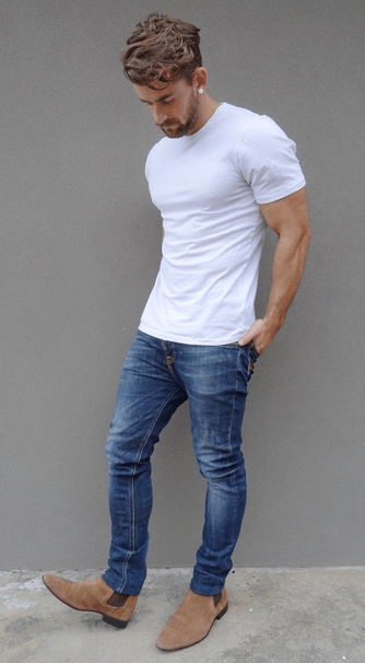 What Shoes to Wear With Jeans | Stiefeletten, Chelsea boots