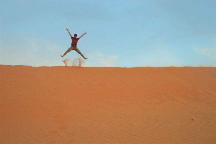 Mui Ne - Rote Sanddünen