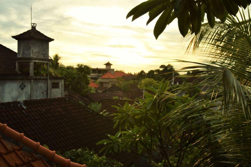 Sonnenuntergang in Ubud