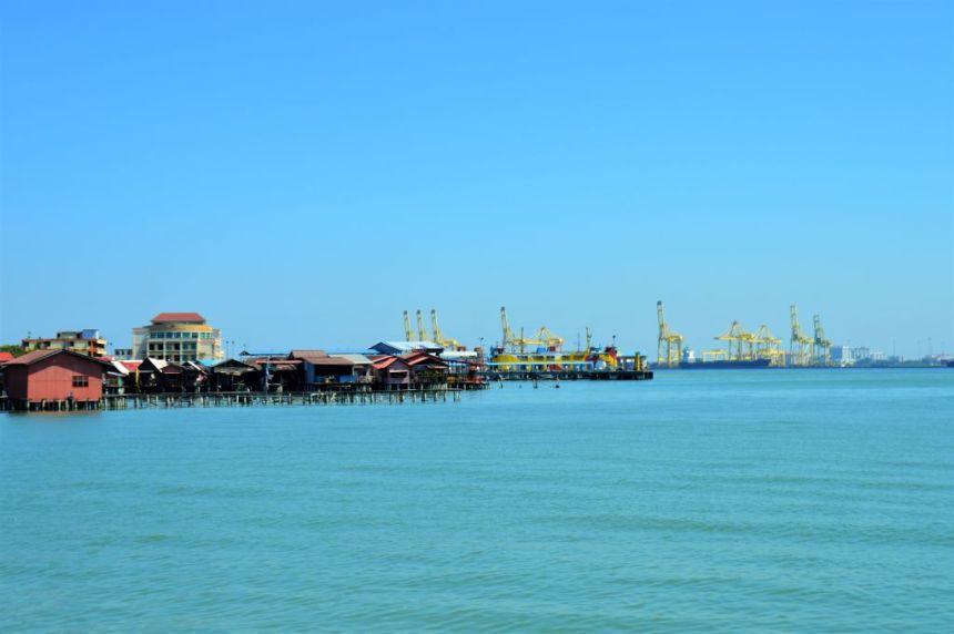 Hafengebiet Georgetown / Penang