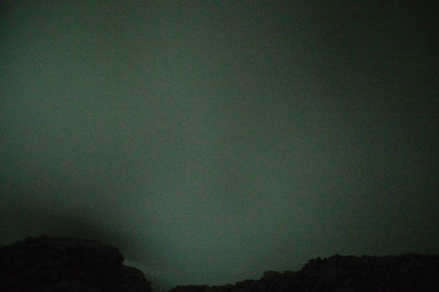 Mount Ijen - Rauch und Nebel