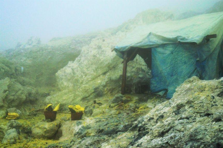 Mount Ijen -  Schlafzelt