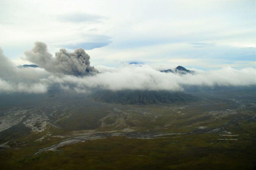Mount Bromo - Eruptionen