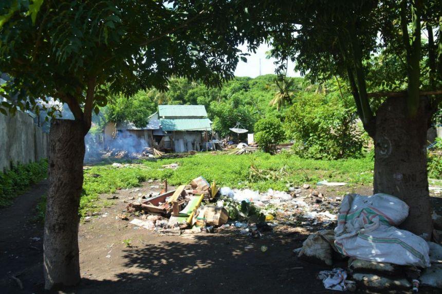 Müll gibt es auch auf Trauminseln