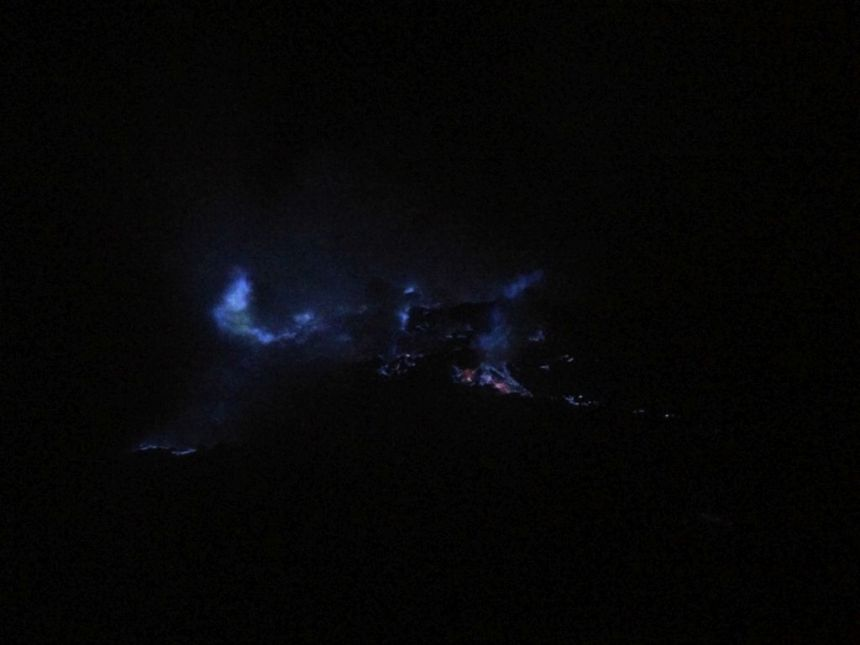 Mount Ijen - Blue Flames