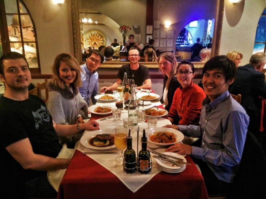 Birthday- / Goodbye-Dinner with Friends