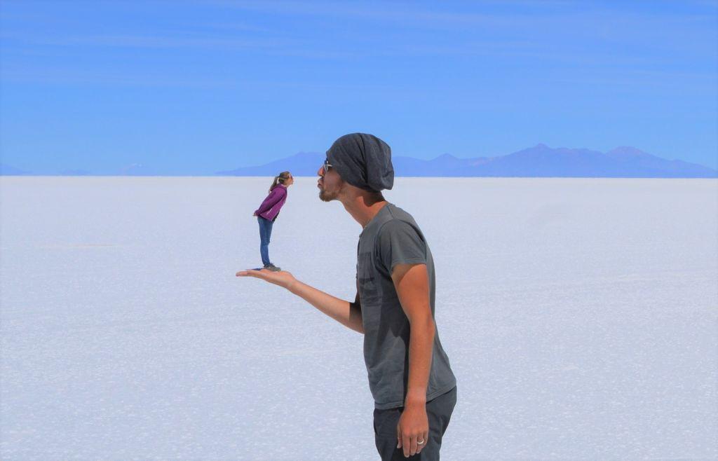 Salar de Uyuni - Von Chile nach Bolivien