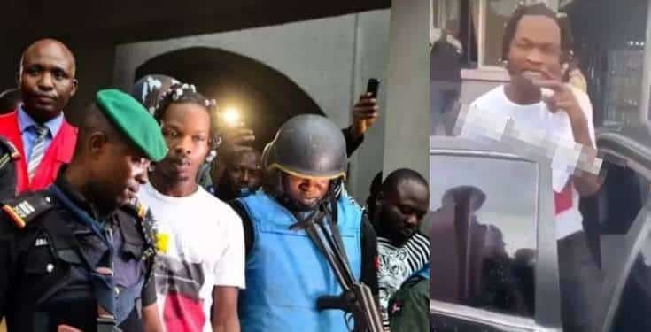 NairaMarley allegedly released on bail (Video)